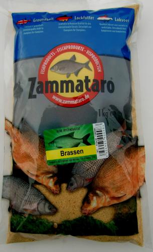 Zammataro Fertigfutter X-22-1kg Lockfutter Karpfen Brassen Rotaugen 3,99€//kg