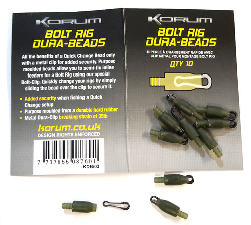 Korum Bolt Rig Dura Beads 10St.