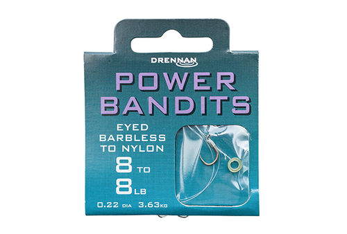 Haken Power Method Bandits / Carp Bandits Drennan Barbless-ohne Widerhaken