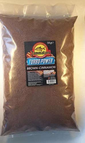 Zammataro Turbo Power Range Brown Cinnamon / Zimt 5kg.