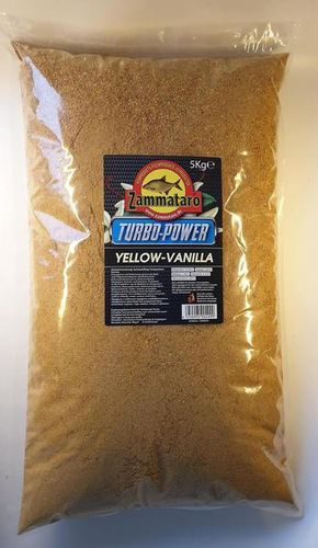 Zammataro Turbo Power Range Yellow Vanilla / Vanille 5kg.